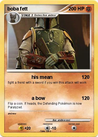 Pokemon boba fett