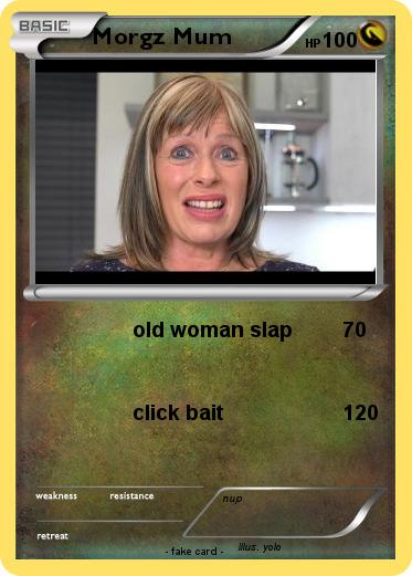 Pokemon Morgz Mum