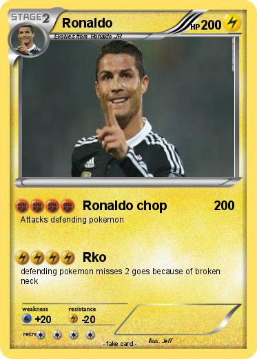 Pokemon Ronaldo