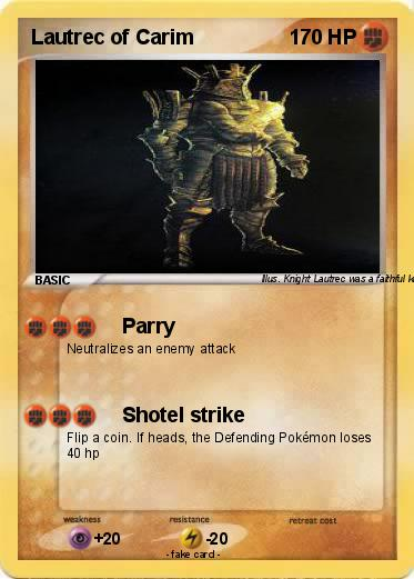 Pokemon Lautrec of Carim