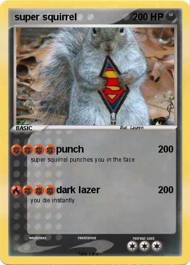 Pokemon super squirrel