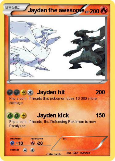 Pokemon Jayden the awesome