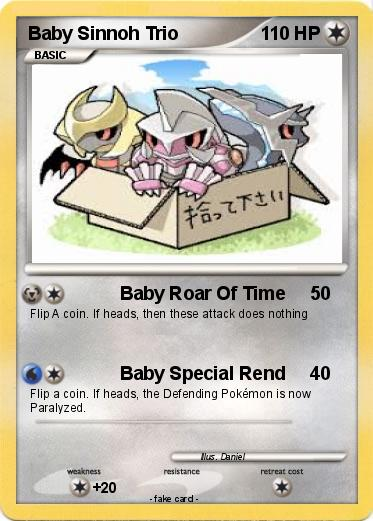 Pokemon Baby Sinnoh Trio