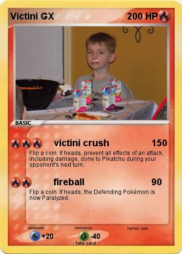 Pokemon Victini GX