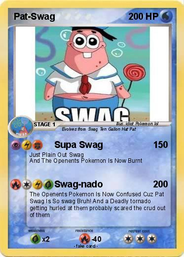 Pokemon Pat-Swag