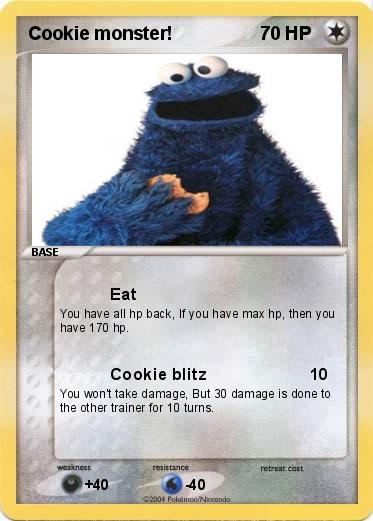Pokemon Cookie monster!