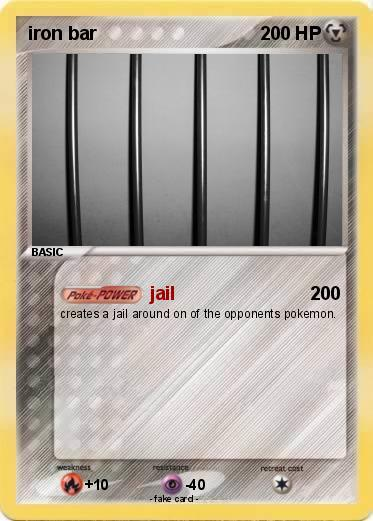 Pokemon iron bar