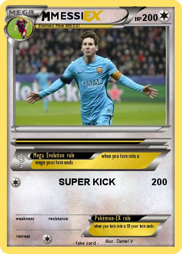 Pokemon MESSI
