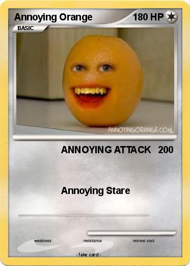 Pokemon Annoying Orange