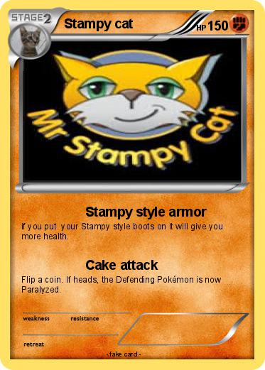 Pokemon Stampy cat