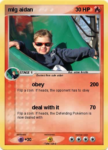 Pokemon mlg aidan