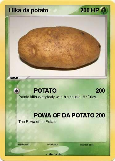 Pokemon I lika da potato