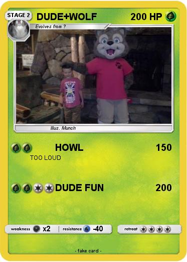 Pokemon DUDE+WOLF