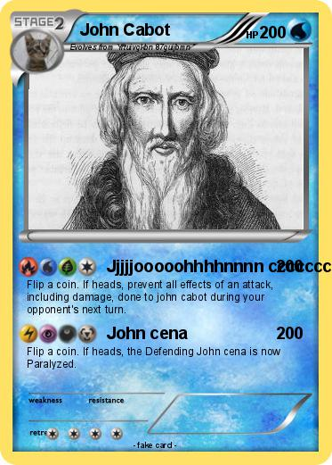 Pokemon John Cabot