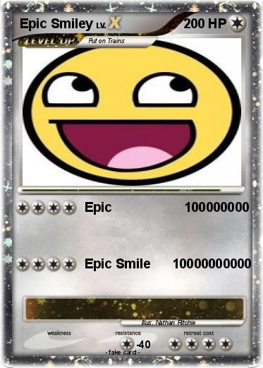 Pokemon Epic Smiley