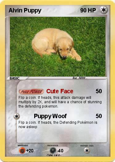Pokemon Alvin Puppy