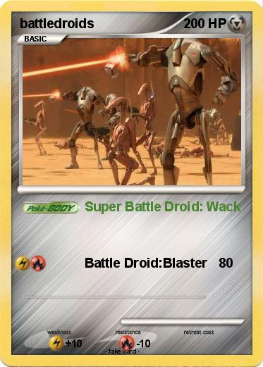Pokemon battledroids
