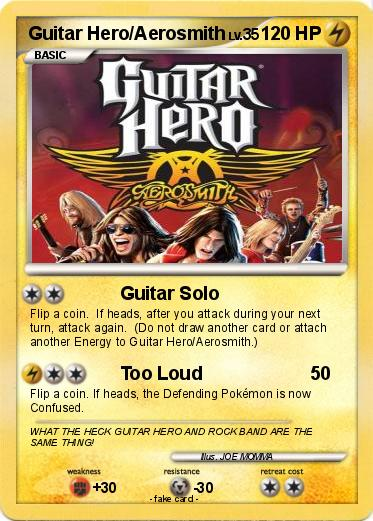 Pokemon Guitar Hero/Aerosmith
