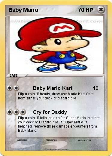 Pokemon Baby Mario