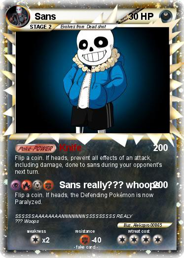 Pokemon Sans