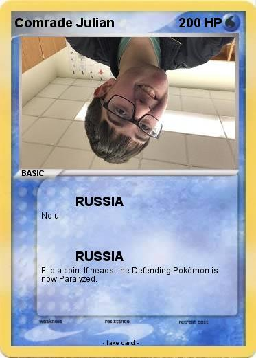 Pokemon Comrade Julian
