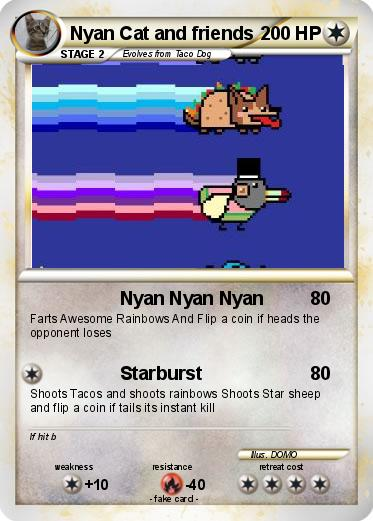 Pokemon Nyan Cat and friends