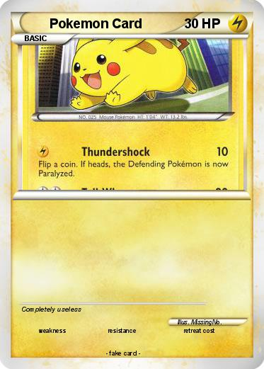Pokemon Pokemon Card