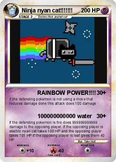 Pokemon Ninja nyan cat!!!!!!!