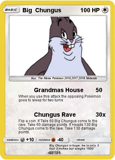 Pokemon Big  Chungus
