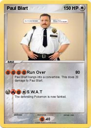 Pokemon Paul Blart