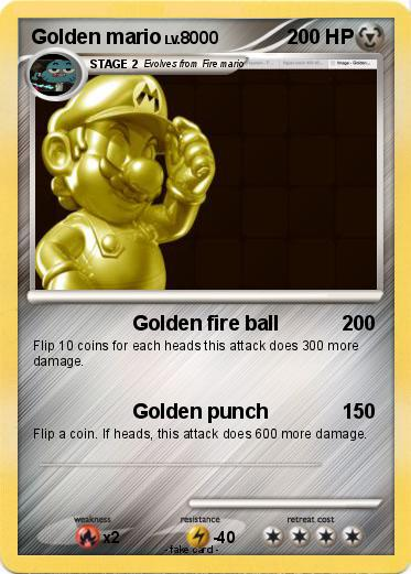 Pokemon Golden mario