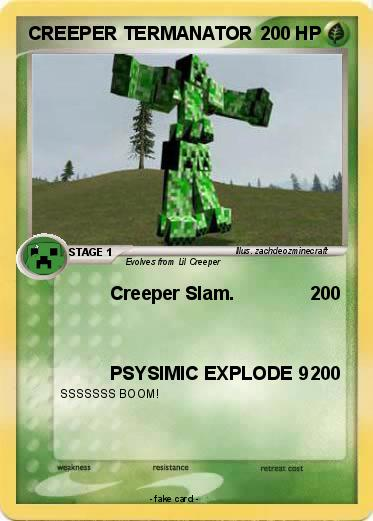 Pokemon CREEPER TERMANATOR