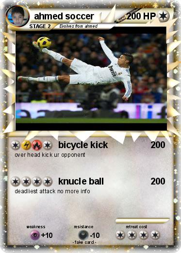 Pokemon ahmed soccer