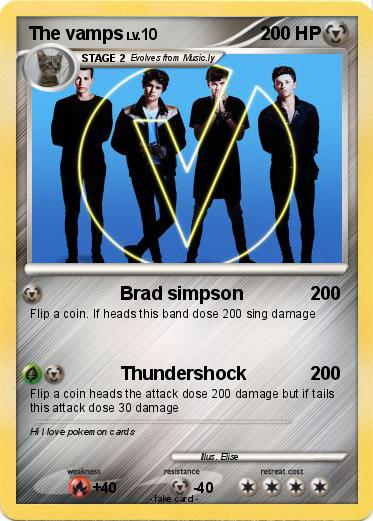 Pokemon The vamps