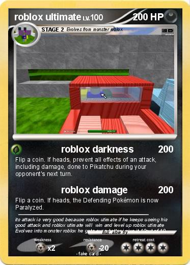 Pokemon roblox ultimate
