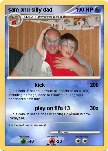 Pokemon sam and silly dad