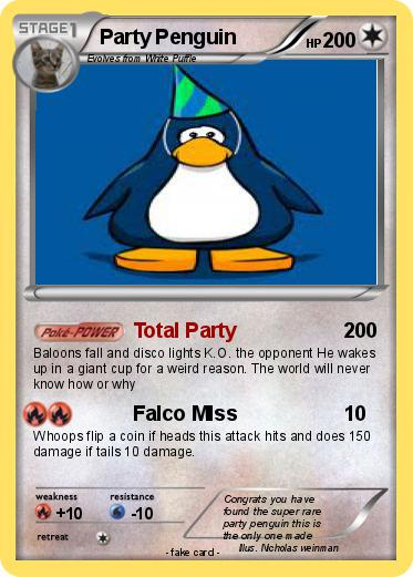 Pokemon Party Penguin
