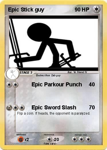 Pokemon Epic Stick guy