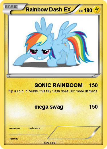 Pokemon Rainbow Dash EX