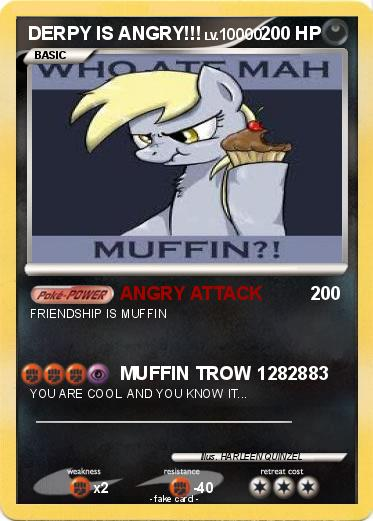 Pokemon DERPY IS ANGRY!!!