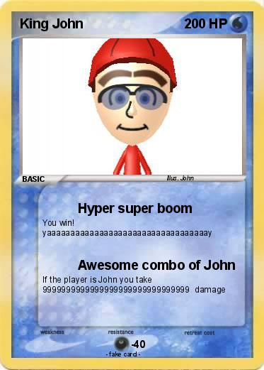 Pokemon King John