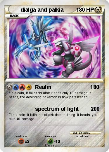 Pokemon dialga and palkia