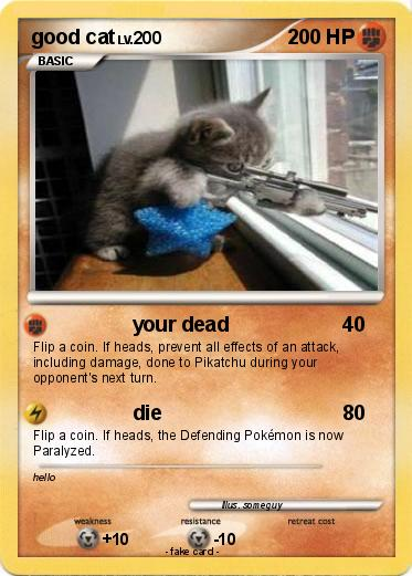 Pokemon good cat