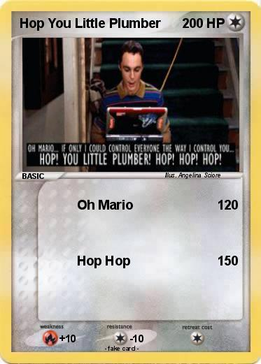 Pokemon Hop You Little Plumber