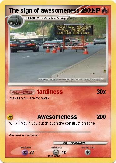 Pokemon The sign of awesomeness