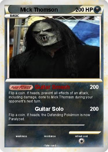 Pokemon Mick Thomson
