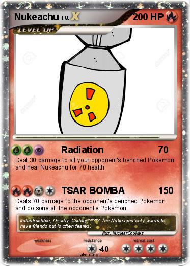 Pokemon Nukeachu