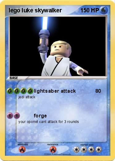 Pokemon lego luke skywalker