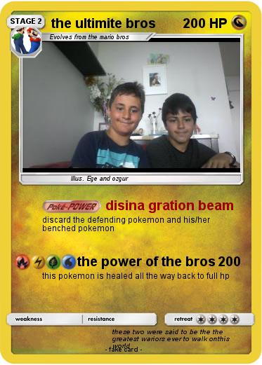 Pokemon the ultimite bros