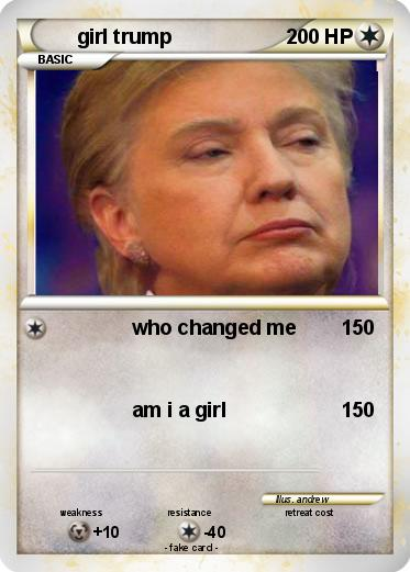 Pokemon girl trump